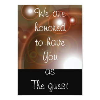 We are honored to have You as The Guest Card