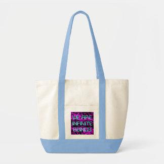 WE ARE INFINITE bag