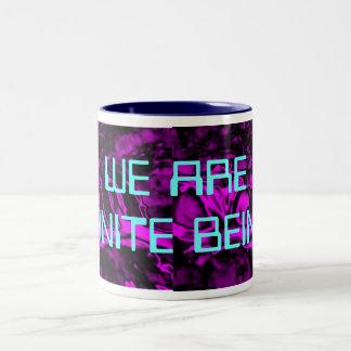 WE ARE INFINITE mug