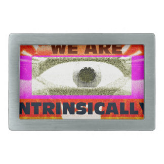 We are intrinsically Free Belt Buckle