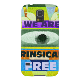 We are intrinsically free! galaxy s5 cover