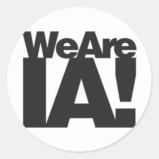 We Are Iowa Sticker