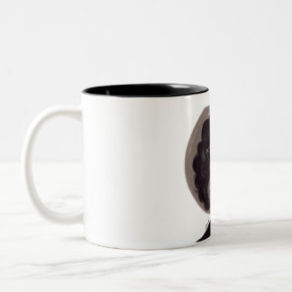 we are just two lost souls swimming in a fishbowl Two-Tone coffee mug
