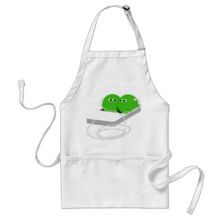 We Are Like Two Peas In A Pod Adult Apron
