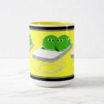 We Are Like Two Peas In A Pod Coffee Mug