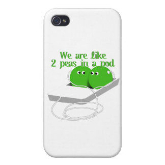 We are Like Two Peas in a Pod iPhone 4/4S Cover