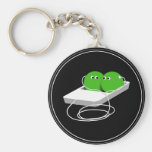 We Are Like Two Peas In A Pod Key Chain