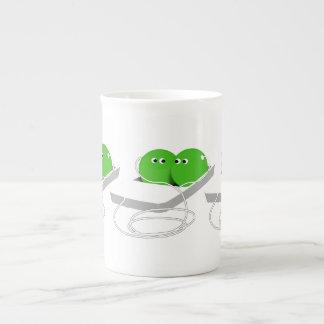 We Are Like Two Peas In A Pod Porcelain Mug