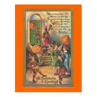 We Are Little Fairies Postcard