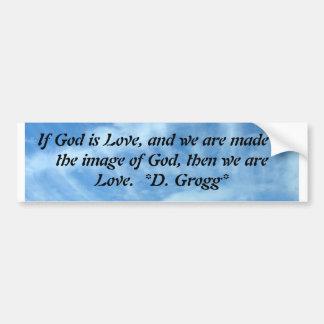 We are Love Bumper Stickers
