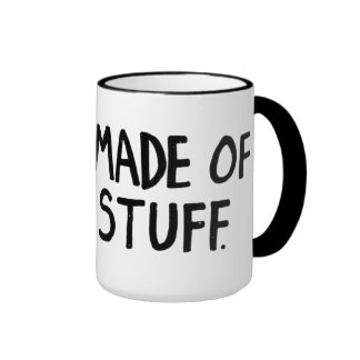 We Are Made of Star Stuff Ringer Coffee Mug