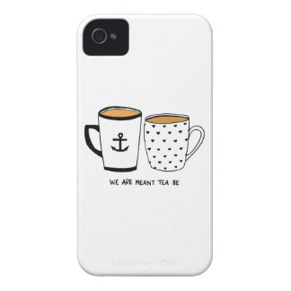 We are Meant Tea Be iPhone 4 Case-Mate Case