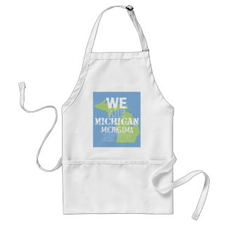 We Are Michigan Michigama Great Waters Adult Apron