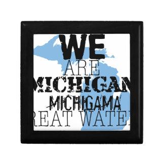 We Are Michigan Michigama Great Waters Keepsake Boxes