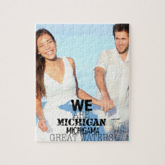 We Are Michigan Michigama Great Waters Jigsaw Puzzle