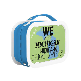 We Are Michigan Michigama Great Waters Lunch Box