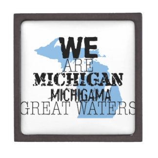 We Are Michigan Michigama Great Waters Premium Jewelry Box