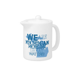 We Are Michigan Michigama Great Waters Teapot