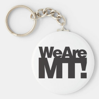 We Are Montana Keychain