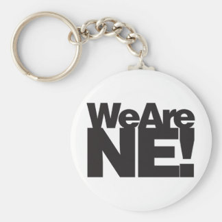 We Are Nebraska Keychain