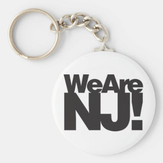 We Are New Jersey Keychain