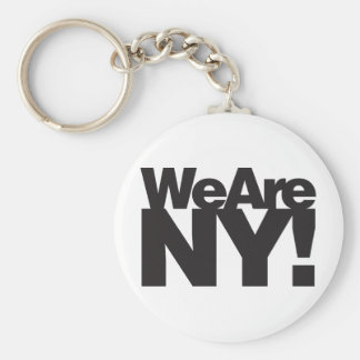 We Are New York Keychain