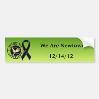 We Are Newtown Tribute Bumper Sticker