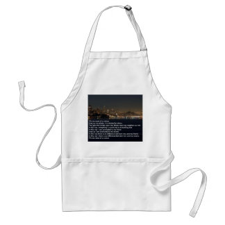 We are None of Us Alone Adult Apron