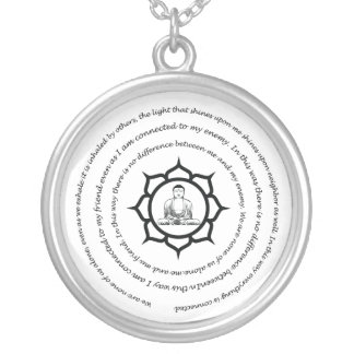 We are none of us alone necklace