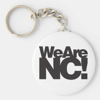 We Are North Carolina Keychain