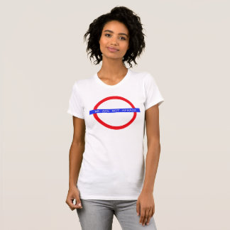 """""""WE ARE NOT AFRAID"""" Women's T-shirt (Front/Back)"""