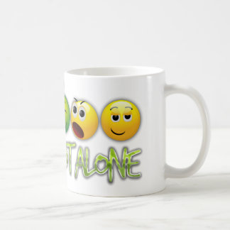 We are not alone from the movie Close Encounters Coffee Mug