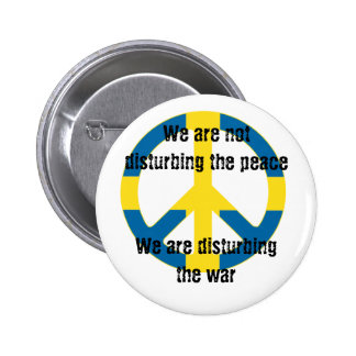 We are not disturbing the peace... button