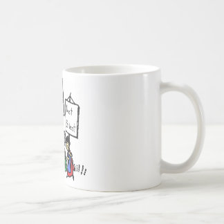 We are not racist, violent, or silent! mugs