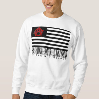 We Are Not Slave Pull Over Sweatshirts