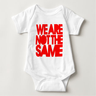 We Are Not The Same T-Shirt (White/Red)