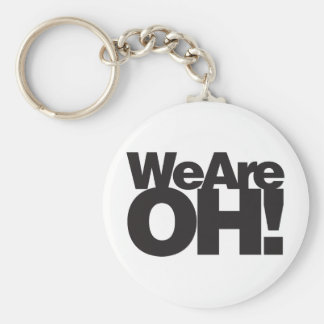 We Are Ohio Keychain