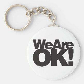 We Are Oklahoma Keychain