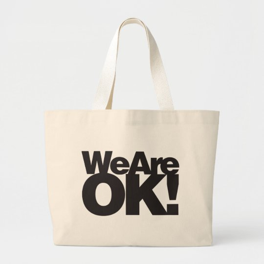 We Are Oklahoma Large Tote Bag