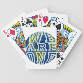 We are one bicycle playing cards