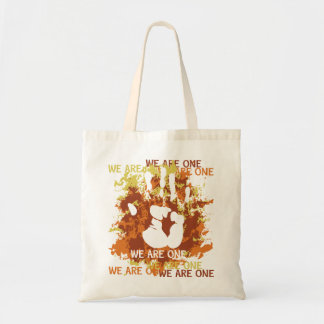 We Are One Canvas Bags
