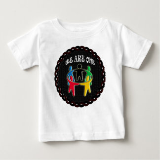 WE ARE ONE CIRCLE OF FRIENDS BABY T-Shirt