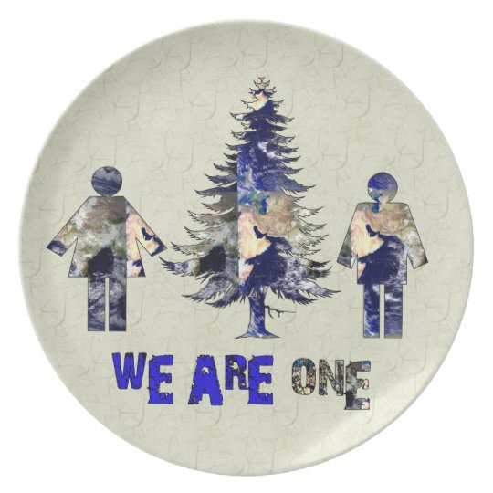 We Are One Dinner Plate