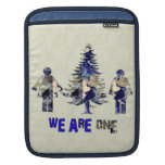 We Are One iPad Sleeves