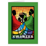 We Are One Kwanzaa Holiday Greeting Cards