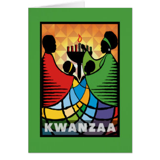 We Are One Kwanzaa Holiday Notecards Card