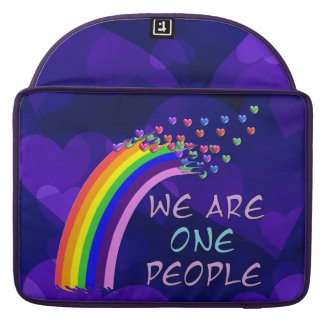 We Are One MacBook Pro Sleeve