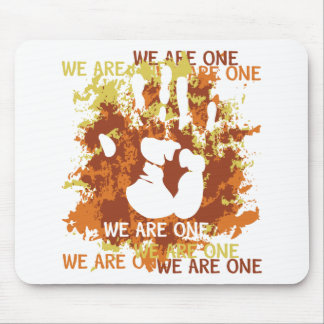 We Are One Mouse Pad