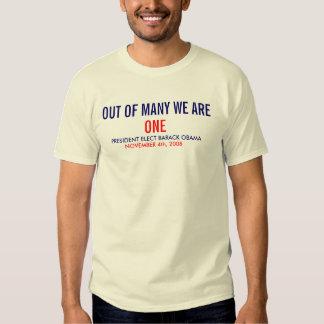 WE ARE ONE - NTL TEE SHIRT