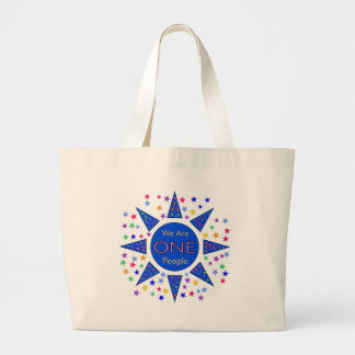 We Are One People Canvas Bag